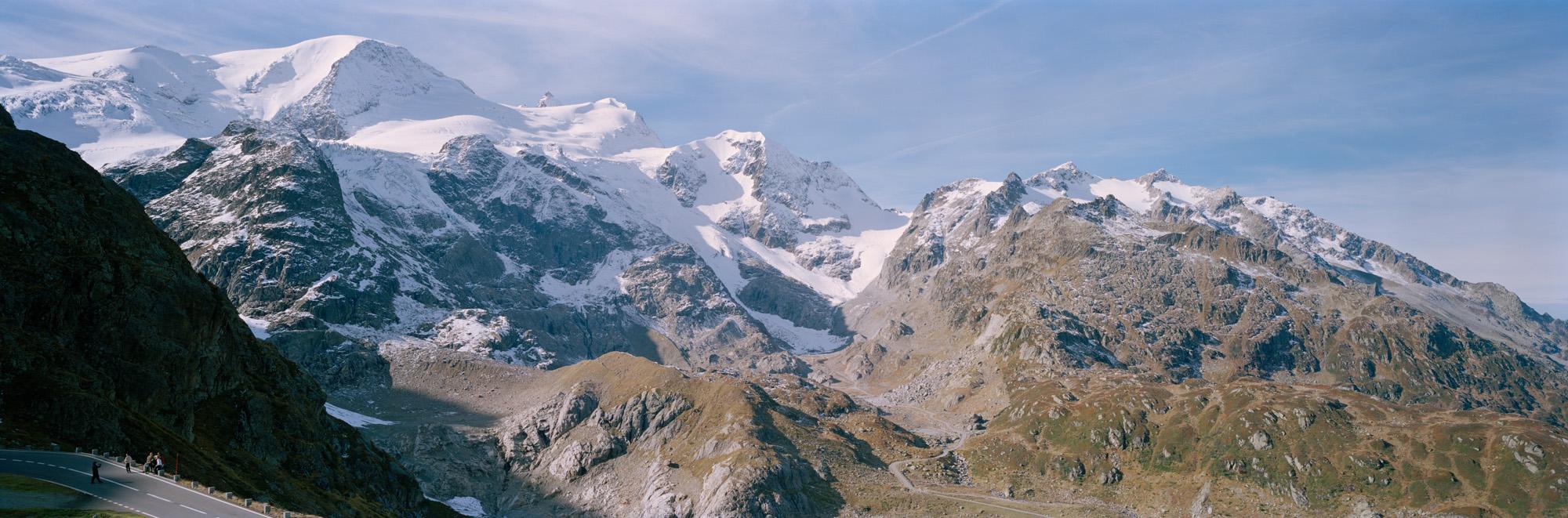 Alpenpässe, Alpen, Schweiz, Italien, Österreich, Deutschland, Natur, Landschaften, Pässe, Straßen, Steine, Berge, Wiesen, Grün, Gras, Bergluft, Blau, Himmel, Gwächtenhorn,