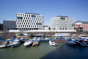 Baustelle Rheinauhafen Koeln Pier 15